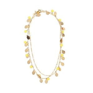 NWOT | J. Crew | Gold & Yellow Necklace